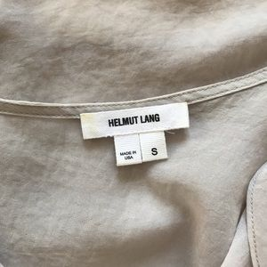 Helmut Lang Tops - sheer tank with leather strap